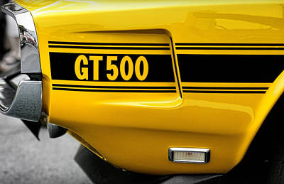 Photograph - 1969 Ford Shelby Mustang Gt500 by Gordon Dean II