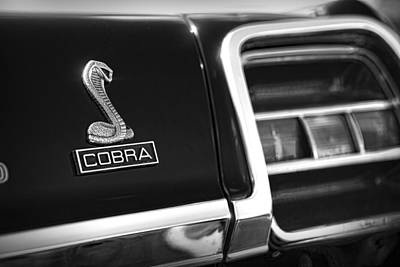 Photograph - 1969 Ford Torino Cobra by Gordon Dean II