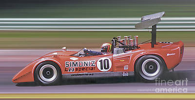 Photograph - 1969 Lola T163a by Ed Dooley