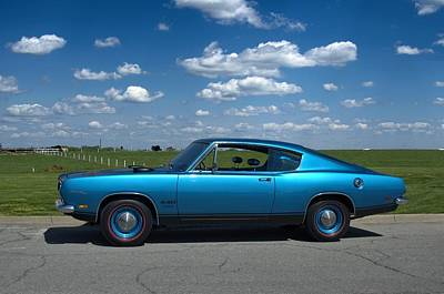 Photograph - 1969 Plymouth Barracuda 440 by Tim McCullough