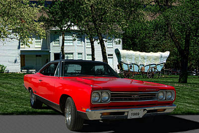 Photograph - 1969 Plymouth Gtx 440 Magnum by Tim McCullough