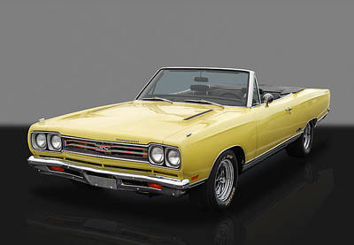 Photograph - 1969 Plymouth Gtx by Frank J Benz