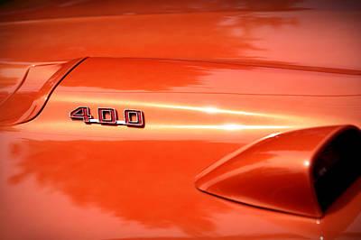 Photograph - 1969 Pontiac Firebird 400 by Gordon Dean II