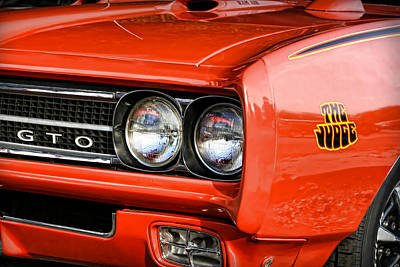 Photograph - 1969 Pontiac Gto The Judge by Gordon Dean II