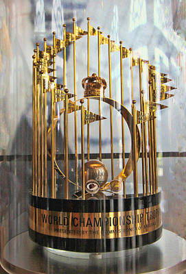 Photograph - 1969 World Championship Trophy by Allen Beatty