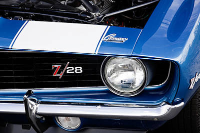 Street Rod Photograph - 1969 Z28 Camaro Real Muscle Car by Rich Franco