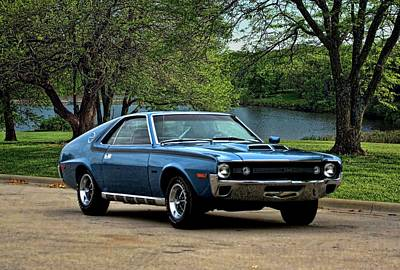 Photograph - 1970 Amc Amx by Tim McCullough