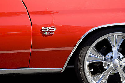 Photograph - 1970 Chevelle Malibu Ss 454 by Rich Franco