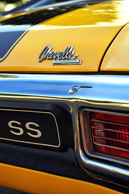 Photograph - 1970 Chevelle Ss By Chevrolet by Gordon Dean II