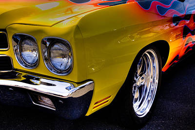 Hot Rod Photograph - 1970 Chevrolet Chevelle II by David Patterson