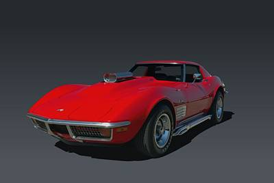 Photograph - 1970 Chevrolet Corvette 454 Stingray by Tim McCullough