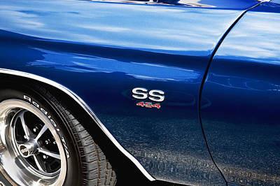 Photograph - 1970 Chevy Chevelle 454 Ss  by Rich Franco