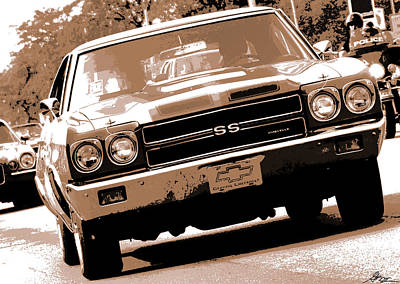 Photograph - 1970 Chevy Chevelle Ss 396 by Gordon Dean II