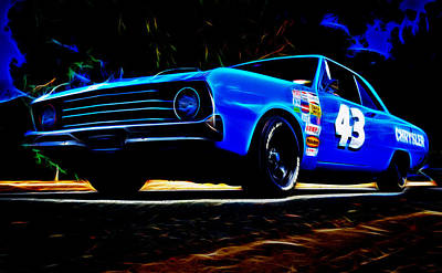 1970 Chrysler Valiant Art Print by Phil 'motography' Clark