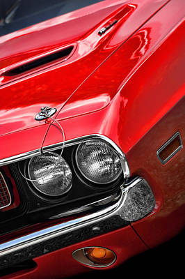 Photograph - 1970 Dodge Challenger 340 by Gordon Dean II