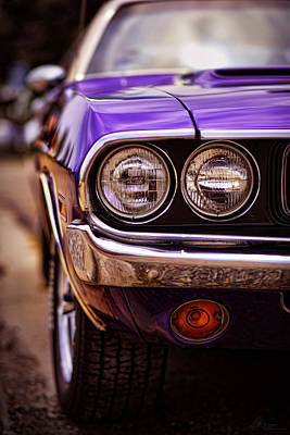 1970 Dodge Challenger Rt Art Print by Gordon Dean II
