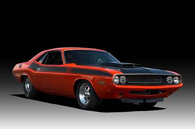 Photograph - 1970 Dodge Challenger Ta by Tim McCullough