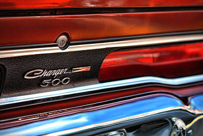 Photograph - 1970 Dodge Charger 500  by Gordon Dean II