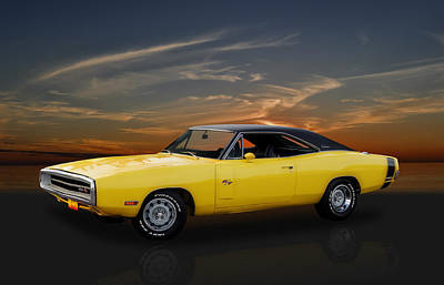 Photograph - 1970 Dodge Charger R/t by Frank J Benz