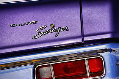 Photograph - 1970 Dodge Dart Swinger In Plum Crazy Purple by Gordon Dean II