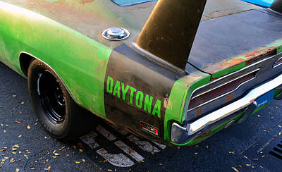 Street Rod Photograph - 1970 Dodge Daytona Charger by David Lee Thompson