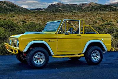 Photograph - 1970 Ford Bronco by Tim McCullough