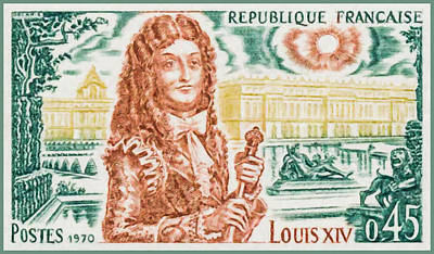 Statue Portrait Painting - 1970 Louis Xiv by Lanjee Chee