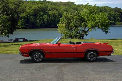Photograph - 1970 Oldsmobile 442 Convertible by Tim McCullough