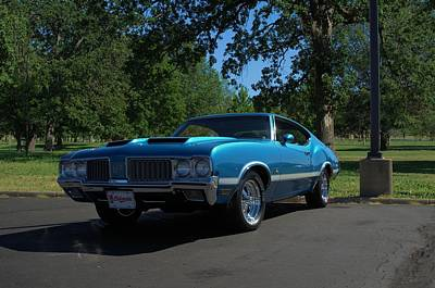Photograph - 1970 Oldsmobile 442 by Tim McCullough