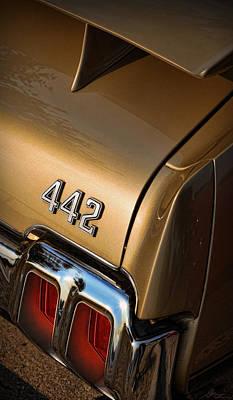 Photograph - 1970 Oldsmobile 442 W-30 by Gordon Dean II