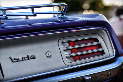 Photograph - 1970 Plum Crazy Purple Plymouth 'cuda by Gordon Dean II