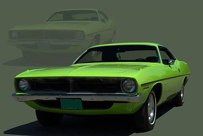 Photograph - 1970 Plymouth Barracuda by Tim McCullough