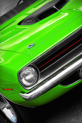 Photograph - 1970 Plymouth 'cuda 440 In Sassy Grass Green by Gordon Dean II