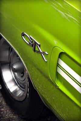 Stock Muscle Photograph - 1970 Plymouth Gtx by Gordon Dean II