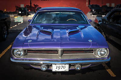Photograph - 1970 Plymouth Hemi Barracuda  by Rich Franco