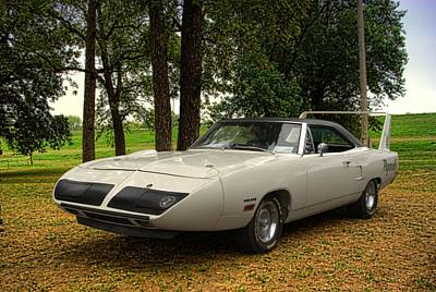 Photograph - 1970 Plymouth Super Bird by Tim McCullough