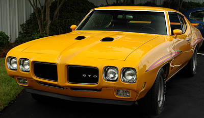 Photograph - 1970 Pontiac Gto. by James C Thomas