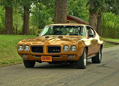 Photograph - 1970 Pontiac Gto by Tim McCullough