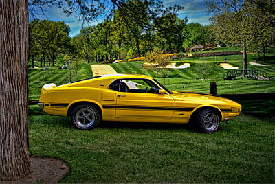 Photograph - 1970 Shelby Gt-500 by Tim McCullough