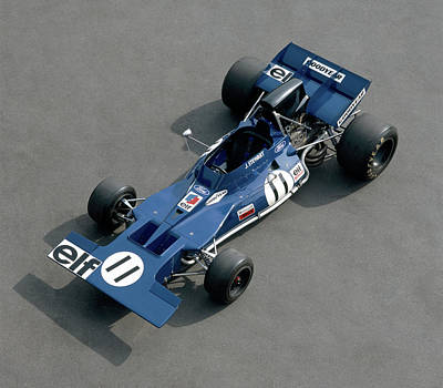 Formula One Photograph - 1970 Tyrell-cosworth 001, 3.0 Litre F1 by Panoramic Images