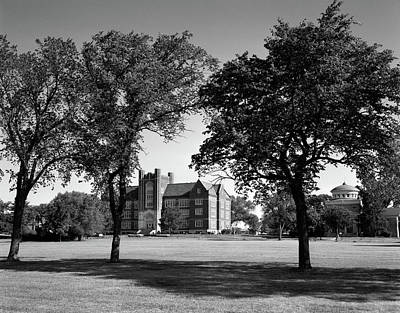 Rural Schools Photograph - 1970s Campus Of Emporia College by Vintage Images