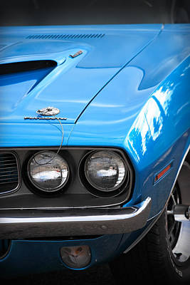 Photograph - 1971 383 'cuda by Gordon Dean II