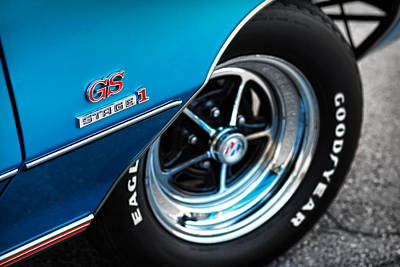 Photograph - 1971 Buick Gs Stage 1 by Gordon Dean II