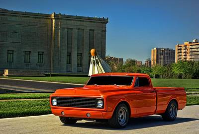 Photograph - 1971 Chevrolet C10 Custom Pickup by Tim McCullough