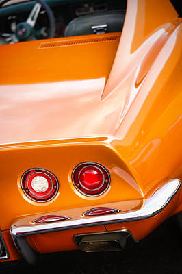 Photograph - 1971 Chevrolet Corvette Stingray by Gordon Dean II