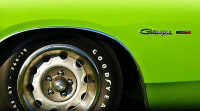 Photograph - 1971 Dodge Charger In Sassy Grass Green by Gordon Dean II