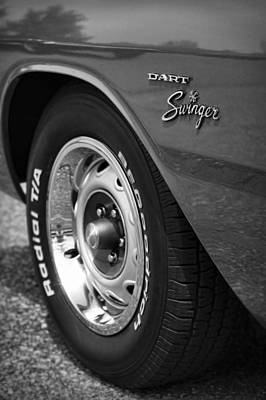 Photograph - 1971 Dodge Dart Swinger by Gordon Dean II