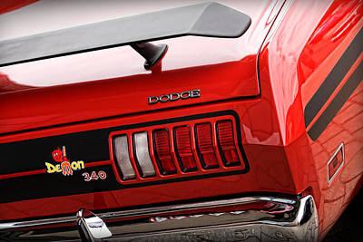 Gpdii Digital Art - 1971 Dodge Demon 340 by Gordon Dean II