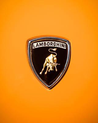 1971 Lamborghini Miura Sv Emblem -0376c45 Art Print by Jill Reger