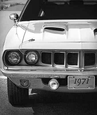 Photograph - 1971 Plymouth Cuda 340  by Gordon Dean II